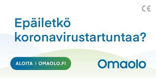 Varaa aika koronavirustestiin Omaolo-palvelussa