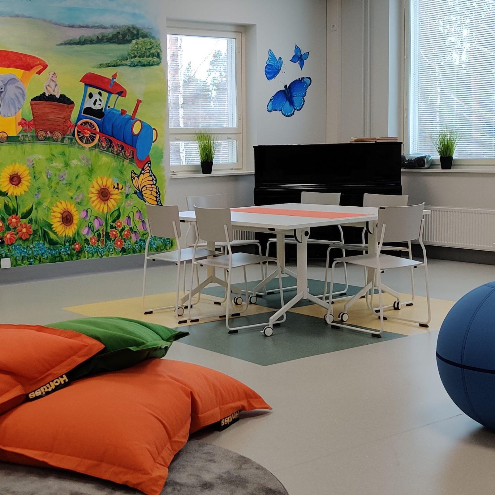 Asikkalan perhekeskus Ilo, kuva: Mirva Kallonen
