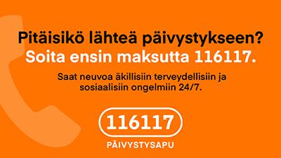 Päivystysapu 116117